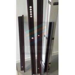 Carena a graffa  per porta blindata ASSO5 DIERRE 21090SX  x pannelli spes.7+7mm.