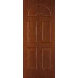 Rivestimento esterno pantografato mod.i18e Tanganica tinto all'acqua per porta blindata 1 anta