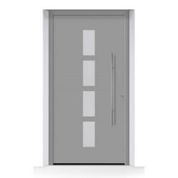 501 THERMOSAFE RAL 9007 Alluminio Grigiastro struttura fine opaca