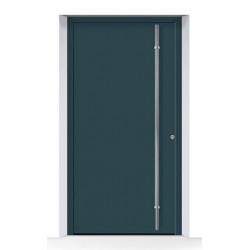 Porta THERMOSAFE RAL 7016, struttura fine opaca, grigio antracite