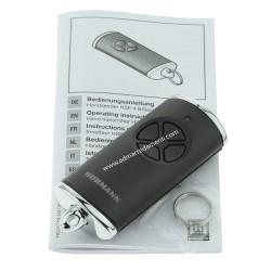 Telecomando HSE 4-868-BS Nero opaco cappucci cromati Hormann 4511732
