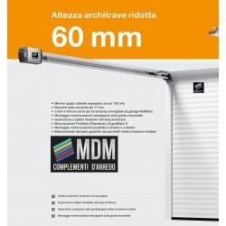 Serranda da garage COLORATA scorrevole a soffitto RollMaticOD Inclusa motorizzazione laterale ProMatic