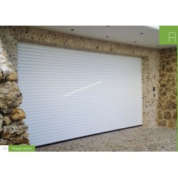 Serranda da garage COLORATA scorrevole  a soffitto RollMatic OD Inclusa motorizzazione laterale ProMatic