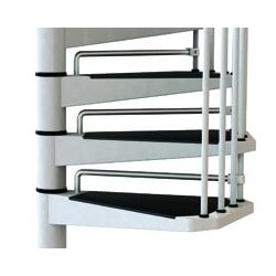 CIVIK aggiunta gradini extra Bianco-Nero-Grigio Arkè' Fontanot