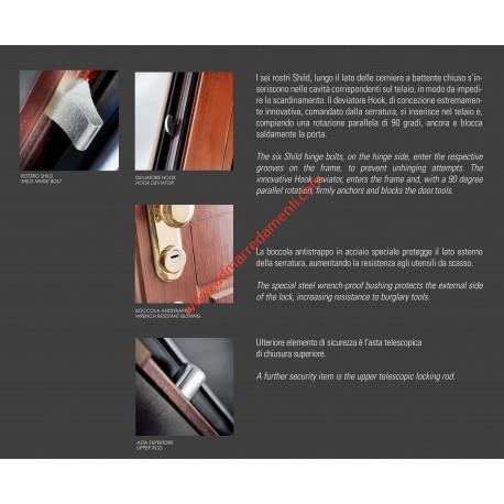 Porta Blindata Dierre SENTRY 1 dettagli tecnici
