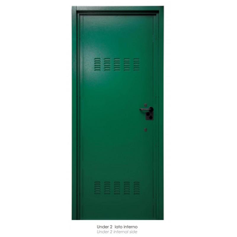 Porta Blindata x CANTINA Dierre UNDER2 CIL.MIS.VANO MURO 210x90