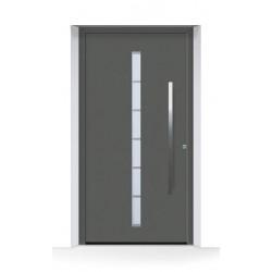 Porta d'ingresso ThermoCarbon (2020) Antracite Metallic CH703 ruvida e opaca Hormann