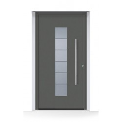 Porta d'ingresso ThermoCarbon (2020) Antracite Metallic CH703 ruvida e opaca Hormann