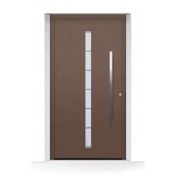 Porta d'ingresso ThermoCarbon (2020) ch607 ruvida e opaca Hormann