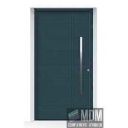 Porta d'ingresso ThermoCarbon (2019) RAL 7016 Grigio Antracite FINE opaco in alluminio Hormann