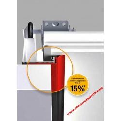 Kit4 Coibentazione ThermoFrame Hormann per portoni sezionali da garage