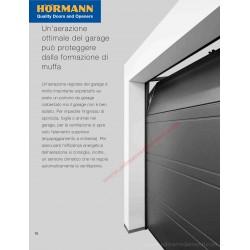 Kit supporto per ribaltamento elemento superiore per servizio ventilazione box (LPU42 / LPU67) Hormann 4015282