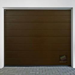Portone sezionale da garage mod.LPU42 HORMANN L-2500 H-2375 ral 8011