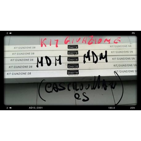 Kit Giunzione x Trasformare 2 cassonetti singoli DIERRE NEWS PACE in 1 solo doppio