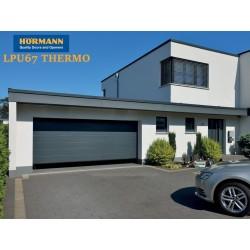 Portone sezionale LPU67 Thermo Hörmann colore Titan Metallic L-3000 x H-2500 Motore Supramatic P3 + 2 Telecomandi 5 tasti