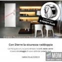 Porta Blindata Dierre SENTRY 1 D.B.(2 ante) 23 larghezze in omaggio con nuOvo cilindro D-FENDY PLUS