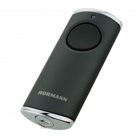 Telecomando Trasmettitore manuale Hörmann HS 1, BiSecur, struttura nera