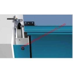 Rivestimento telaio su misura largo 90mm per il montaggio in luce / oltre luce Hormann