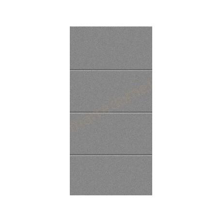 CH 9007 Matt deluxe, grigio alluminio