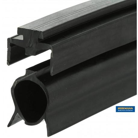 Guarnizione inferiore con feritoie portone Sezionale garage Hormann Serie 30-40 costo unit.ogni 10cm.(3040107)
