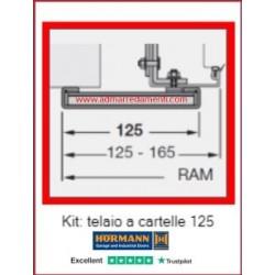 Kit Telaio a cartelle - cornici da 125mm.