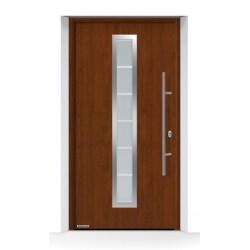 Porta THERMO65 Decograin Night Oak Hormann