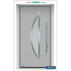 Portoncino ingresso THERMO65 ral 9006 alluminio brillante