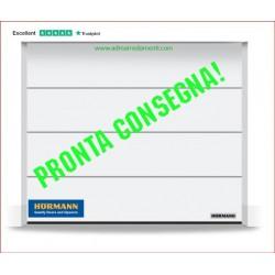 Portone PRONTA CONSEGNA L2750H2250 Full Optional Hormann Bianco face larghe Greca L
