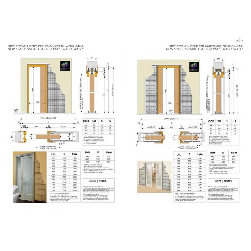 Controtelaio scrigno dierre new space vendita online - Montaggio controtelaio porta ...