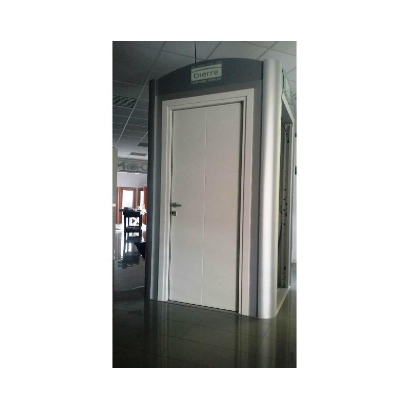 porta blindata silence dierre 2082x814 cl 3 x camera da