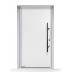 Portoncino d'ingresso THERMO 65 (2019) acciaio-alluminio Bianco Traffico Ral 9016 Hormann