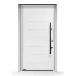 Portoncino d'ingresso THERMO 65 acciaio-alluminio Bianco Traffico Ral 9016 Hormann