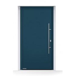 Porta ingresso THERMO65 acciaio - alluminio Grigio Antracite Ral 7016 Hormann