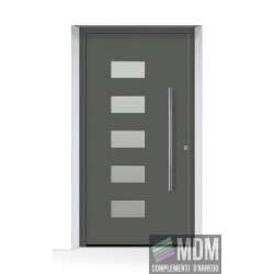 Portoncino d'ingresso THERMOSAFE (2019) CH 703, antracite Metallic
