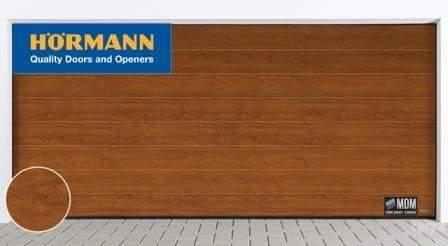 Porta sezionale Renomatic colore golden oak