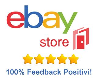 Compra sicuro! guarda i ns.Feedback su EBAY la piattaforma di commercio Online N.1 al mondo !