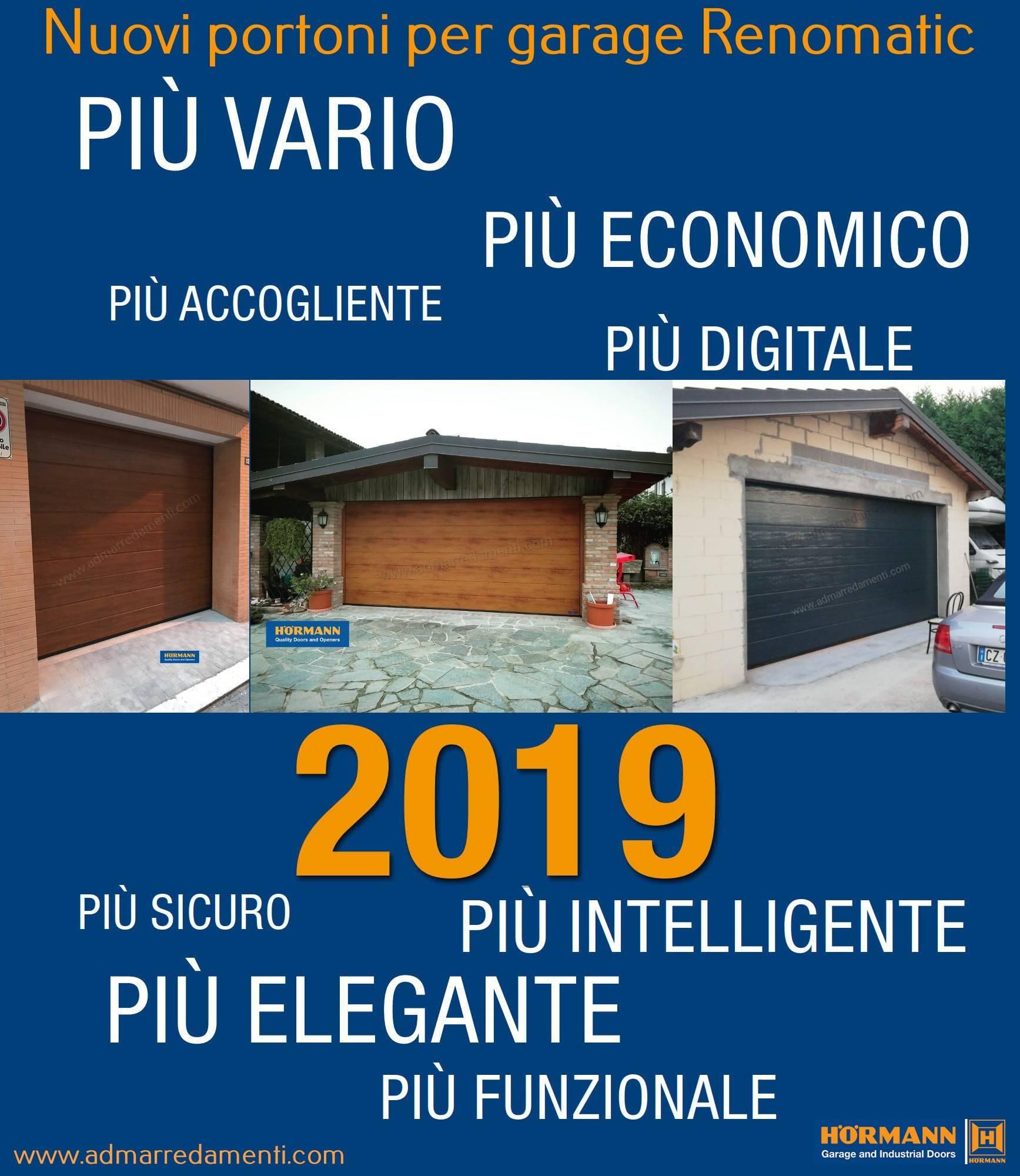 Hormann 2019 Garage Light: Portoni Garage,basculanti Sezionali Hormann,porte Serrande