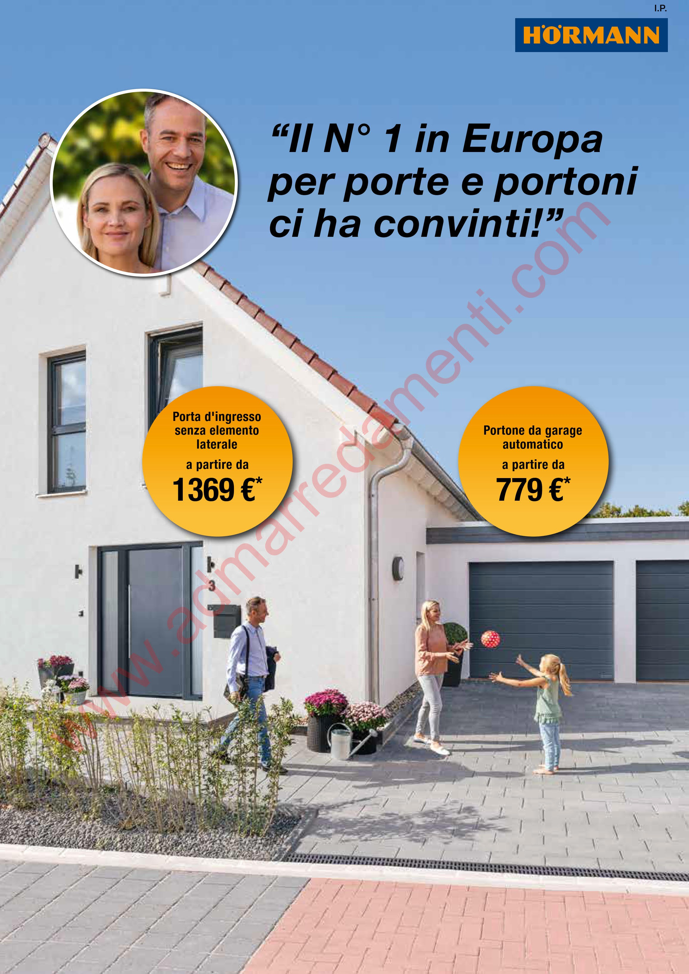 Hormann campagna pubblicitaria europa promotion 2018